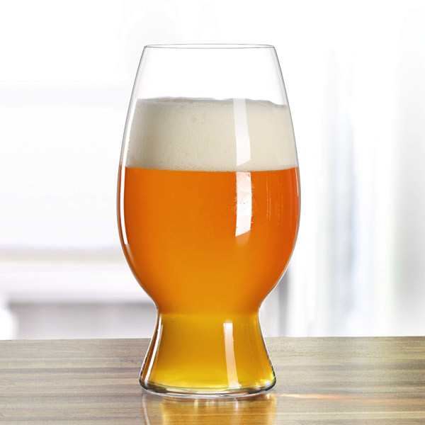 Spiegelau Craft Beer Glasses American Wheat Beer / Witbier Glas, Set of 4
