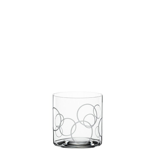 Spiegelau Signature Drinks Softdrinkbecher Circles, 2er-Set