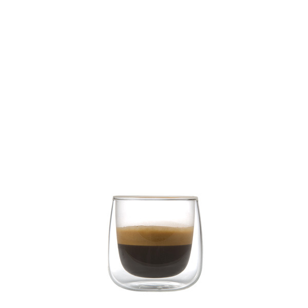 Spiegelau drinking glass double-walled thermo glass Cremona, 80 ml