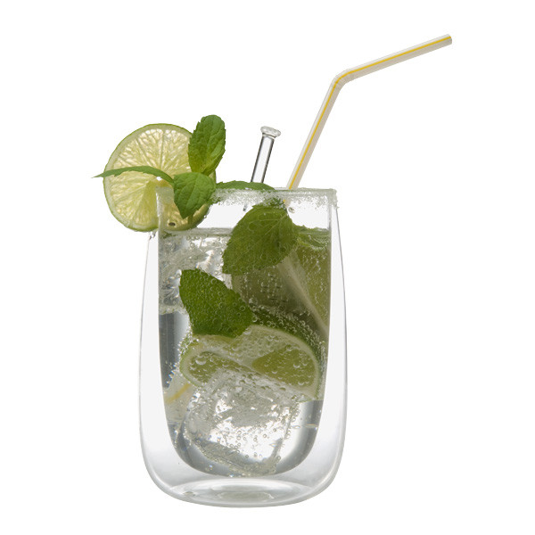 Spiegelau drinking glass double-walled thermo glass Cremona, 350 ml